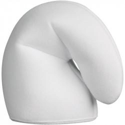Chapéu Adulto Branco do Smurfs Luxo