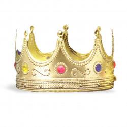 Coroa Adulto Real Dourada