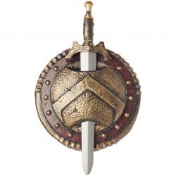 Escudo Romano e Espada Clássico