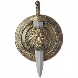 Escudo Romano e Espada Luxo