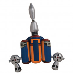 Jetpack do Jango Fett Star Wars