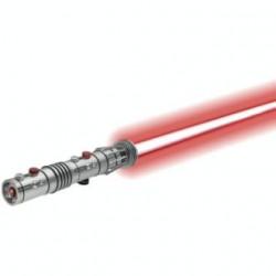 Sabre de Luz Vermelho Darth Maul Colecionadores Lamina Removível Star Wars