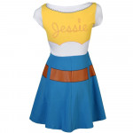Vestido Fantasia Jessie Toy Story Adolescente Luxo