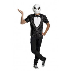 Camiseta Adulto The Nightmare Before Christmas Jack Skellington