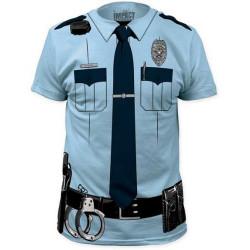Camiseta de Policial