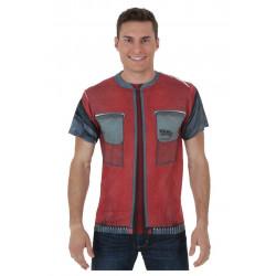 Camiseta Marty Mcfly De Volta para o Futuro Jaqueta