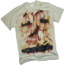 Camiseta Walking Dead Rick Grimes Sheriff Adulto