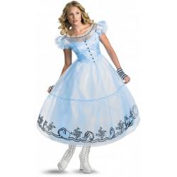 Fantasia Adulto Alice no País das Maravilhas Luxo