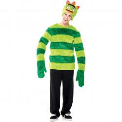 Fantasia Adulto Brobee Alienígena Verde Yo Gabba Gabba
