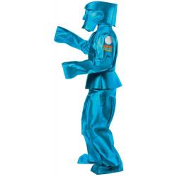 Fantasia Adulto de Robô Azul