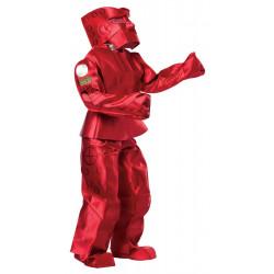 Fantasia Adulto de Robô Vermelha