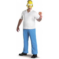 Fantasia Adulto Os Simpsons Homer Luxo