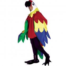 Fantasia Adulto Papagaio Luxo