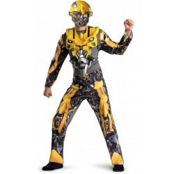 Fantasia Adulto Transformers Bumblebee Luxo
