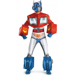 Fantasia Adulto Transformers Optimus Prime Super Luxo