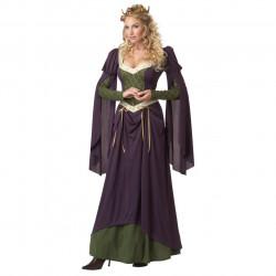 Fantasia Adulto Vestido Lady Luxo