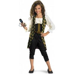 Fantasia Angelica Piratas do Caribe Infantil