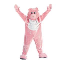 Fantasia Animal Porco Adulto Elite Luxo