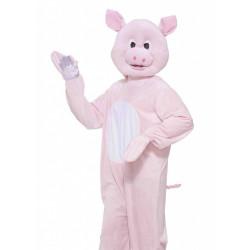 Fantasia Animal Porco Adulto Luxo