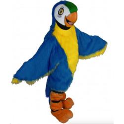 Fantasia Arara Azul Mascote