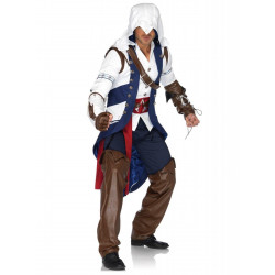 Fantasia Assassins Creed Connor Adulto Luxo