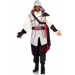 Fantasia Assassins Creed Ezio Adulto Luxo