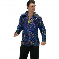 Fantasia Brega Camisa Roxa Adulto