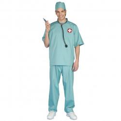 Fantasia Cirurgião Médico Adulto