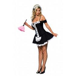Fantasia Faxineira Maid Sexy Adulto Luxo