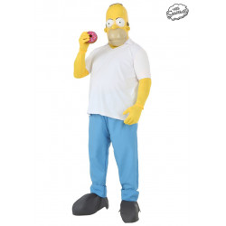 Fantasia Homer Os Simpsons Adulto Luxo