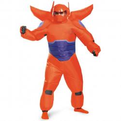 Fantasia Inflável Baymax Vermelho Operação Big Hero 6 Adulto