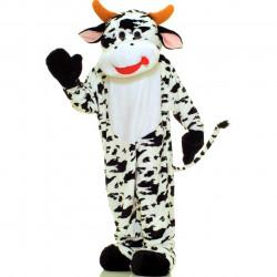 Fantasia Mascote Adulto Vaca Clássica