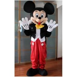 Fantasia Mascote Mickey Mouse Super Luxo