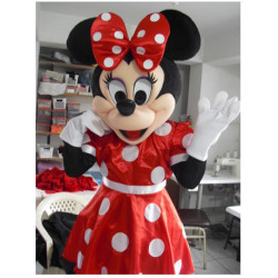 Fantasia Mascote Minnie Super Luxo