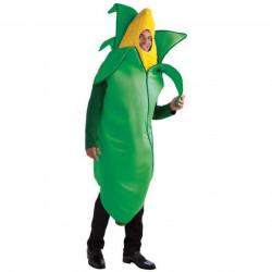 Fantasia Milho Verde Adulto