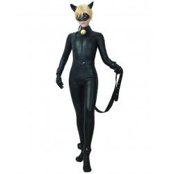 Fantasia Miraculous Gato Adulto Luxo