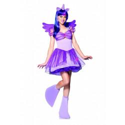 Fantasia My Little Pony Twilight Sparkle Adulto Adolescente