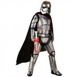 Fantasia Phasma Adulto Star Wars Luxo Despertar da Força