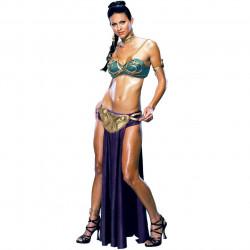 Fantasia Princesa Leia Escrava Star Wars Sexy Adulto