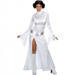 Fantasia Star Wars Princesa Leia Adulto Feminino