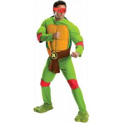 Fantasia Tartarugas Ninja Adulto Luxo Rafael com Músculos