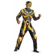 Fantasia Transformers 4 A Era da Extinção Bumblebee Luxo Adulto