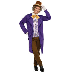 Fantasia Willy Wonka Adulto Luxo