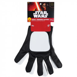 Luvas Flametrooper Star Wars Luxo Adulto Despertar da Força
