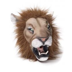 Máscara de Vinil Animal Leão Luxo