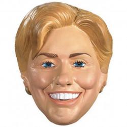 Máscara do Ex Primeira Dama Hillary Clinton Luxo