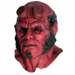 Máscara Hellboy Luxo