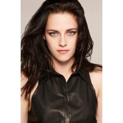 Peruca Celebridade Kristen Stewart Morena Cabelo Humano Remy