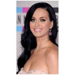 Peruca Katy Perry Celebridade Morena Cabelo Humano Remy