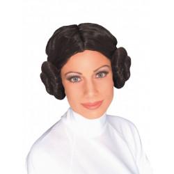 Peruca Princesa Leia Star Wars Adulto Feminino